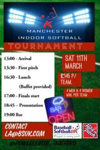 Indoor tourny 11 March